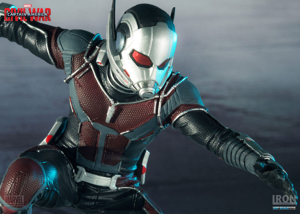 Estátua Captain America Civil War 1/10 Ant-Man 17 cm