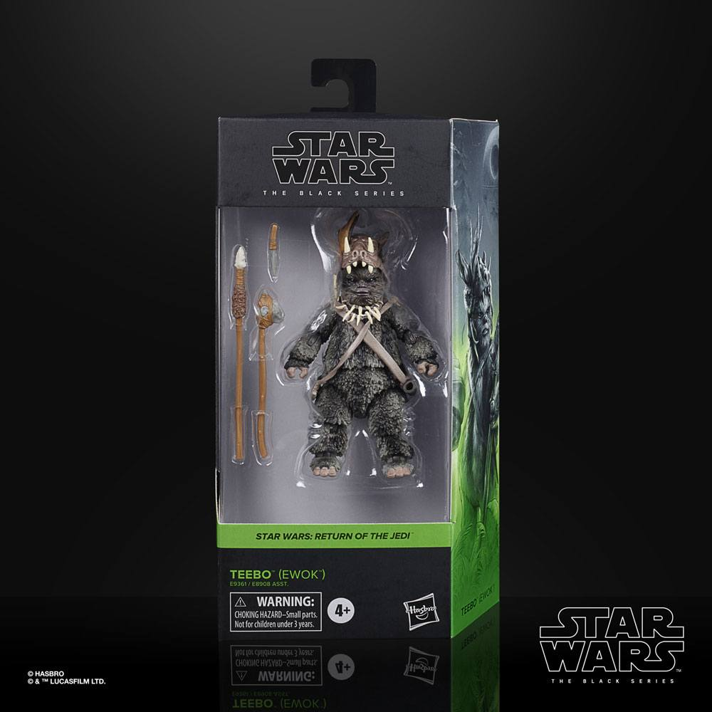 Star Wars Black Series Action Figure Teebo (Ewok) Ep. VI 15 cm 2020 Wave 3