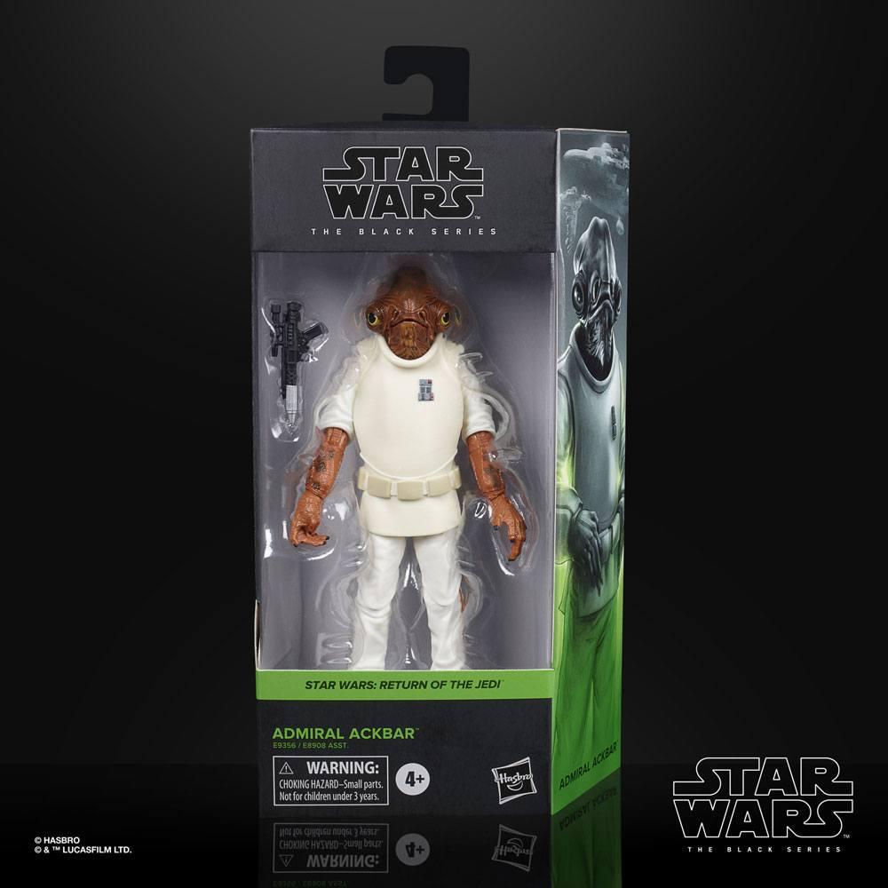 Star Wars Black Series Action Figure Admiral Ackbar 2020 Wave 3