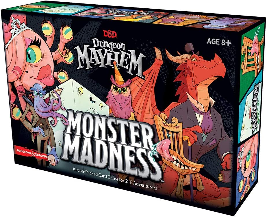 Dungeons & Dragons Dungeon Mayhem: Monster Madness English