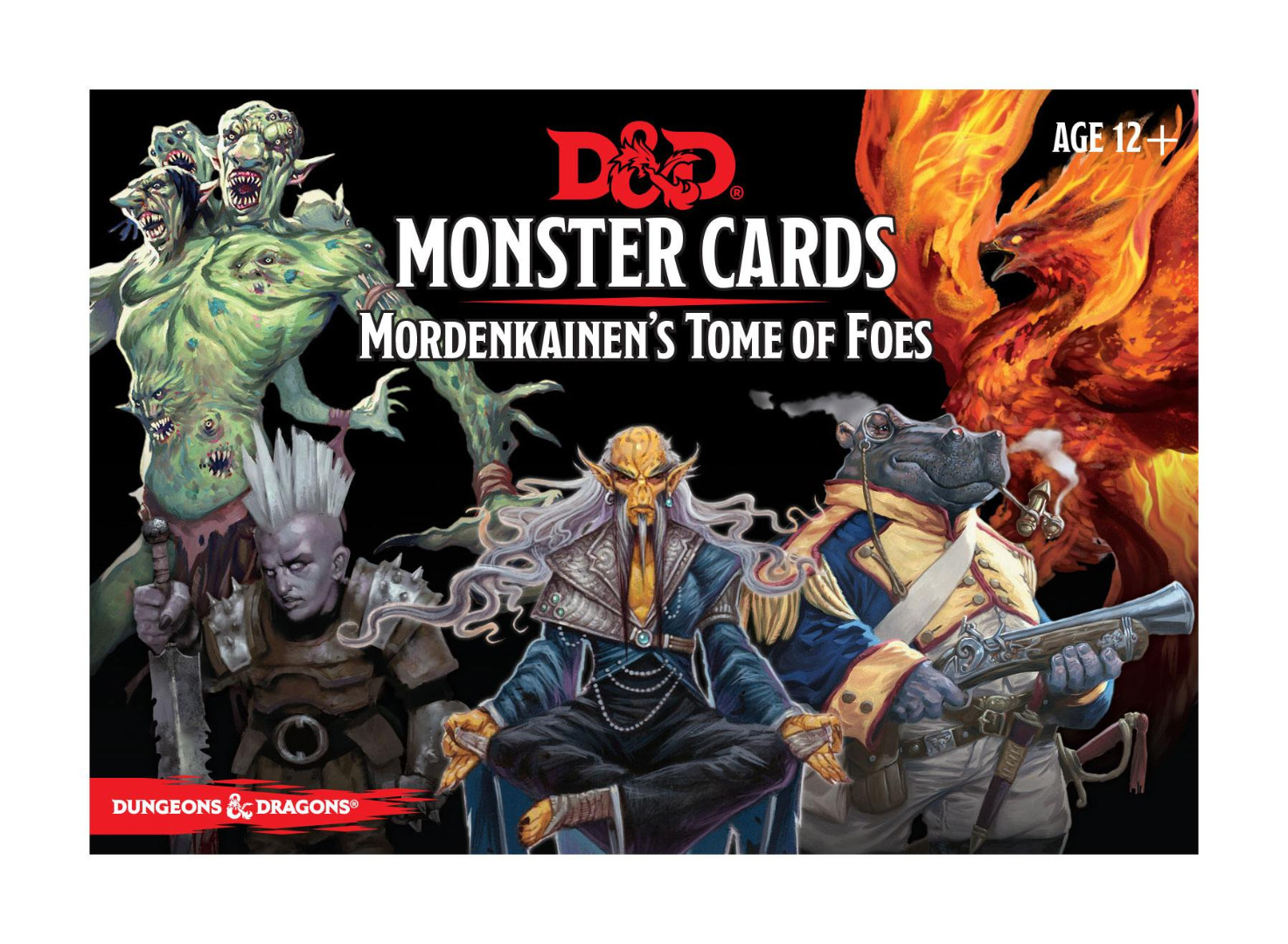 Dungeons & Dragons Monster Cards: Mordenkainen's Tome of Foes English Vers.