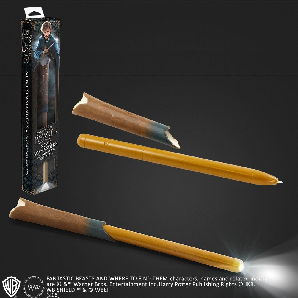 Fantastic Beasts Illuminating Wand Pen Newt Scamander
