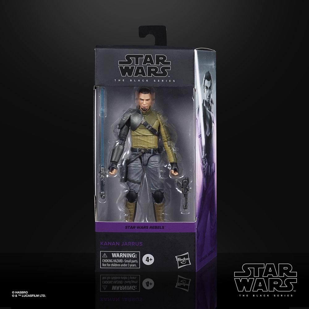 Star Wars Rebels Black Series Action Figure Kanan Jarrus 15 cm