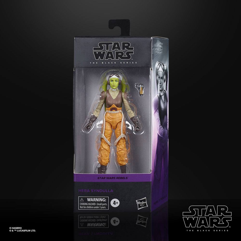 Star Wars Rebels Black Series Action Figure Hera Syndulla 15 cm