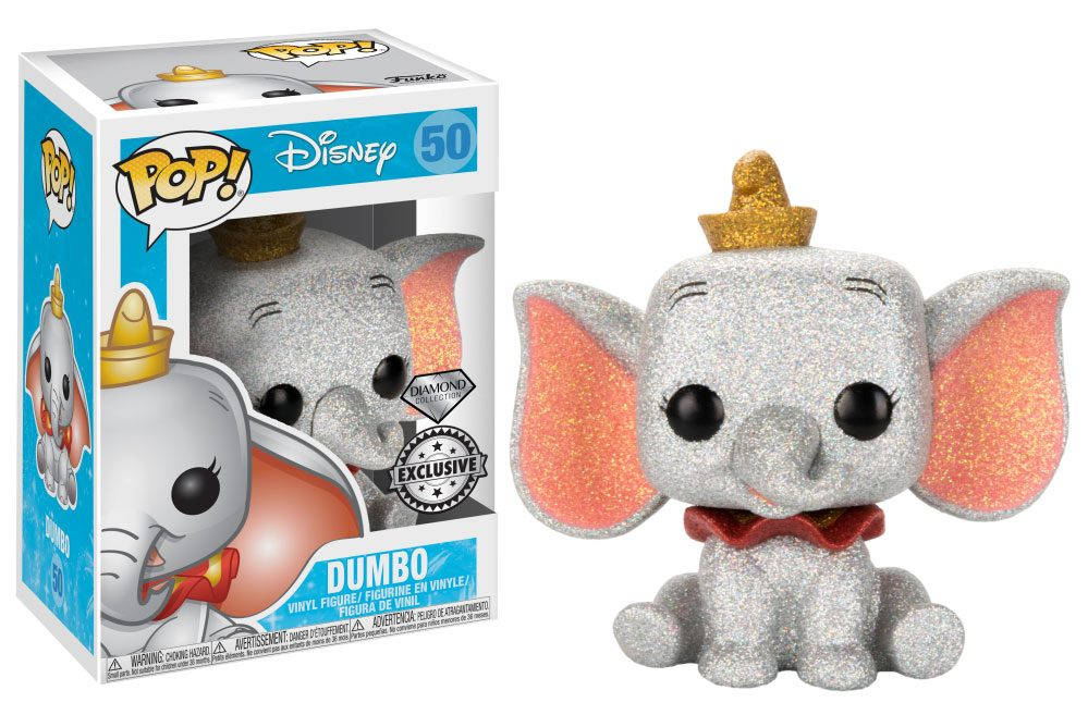 Dumbo POP! Vinyl Figure Dumbo (Diamond Glitter)  Exclusive Edition 10 cm