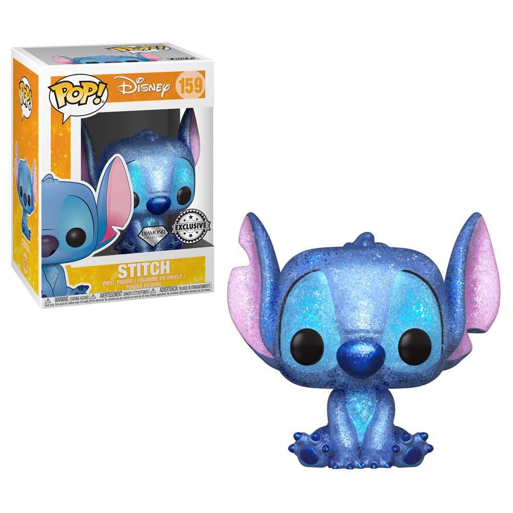 Lilo & Stitch POP! Disney Stitch Seated (Diamond Glitter) Exclusive Edition
