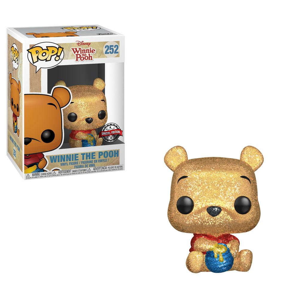 Winnie the Pooh POP! Disney Seated Pooh (Diamond Glitter) Exclusive Edition