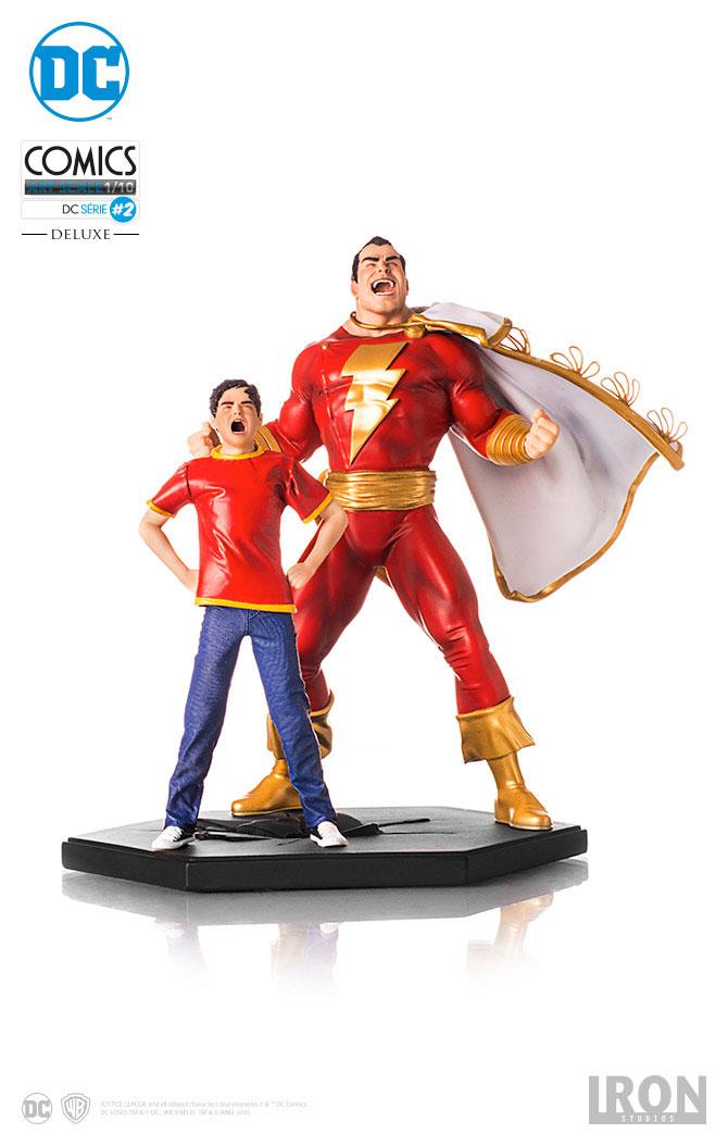 Estátua DC Comics 1/10 Shazam 20 cm