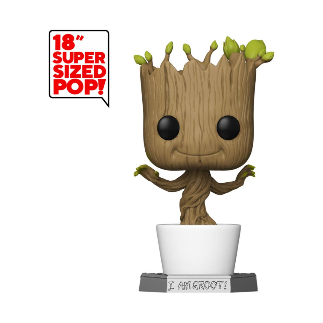 Guardians of the Galaxy Super Sized POP! Marvel Figure Dancing Groot 46 cm