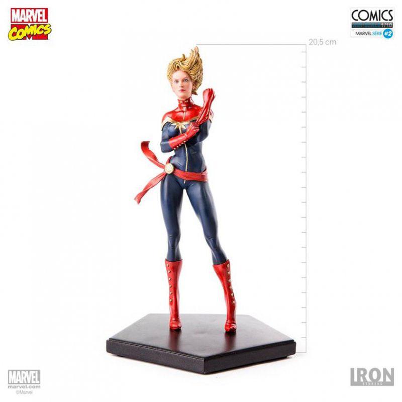 Estátua Marvel Comics 1/10 Captain Marvel 20 cm