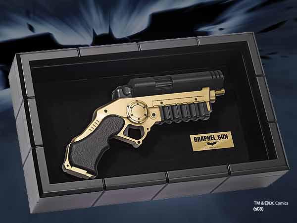 Batman The Dark Knight Replica 1/1 Grapnel Gun 30 cm