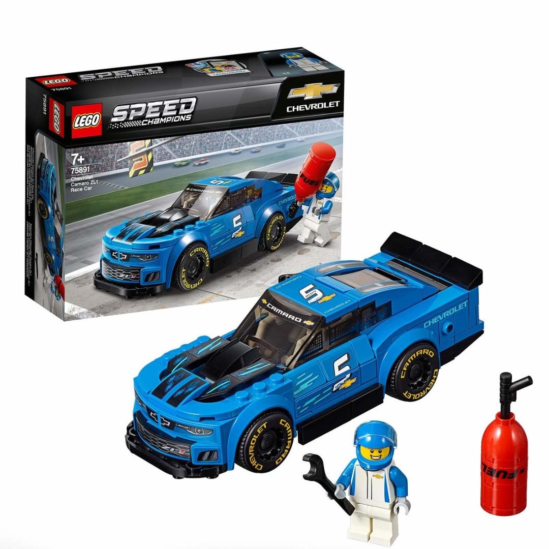 LEGO Speed Champions: Carro de Corrida Chevrolet Camaro ZL1
