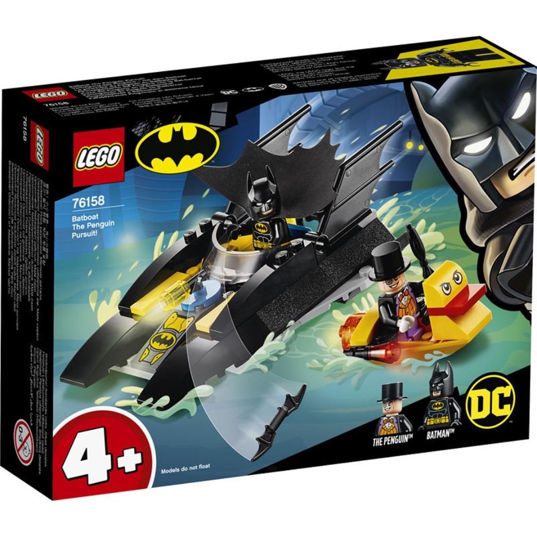 LEGO Super Heroes: Perseguição de Pinguim no Batbarco!