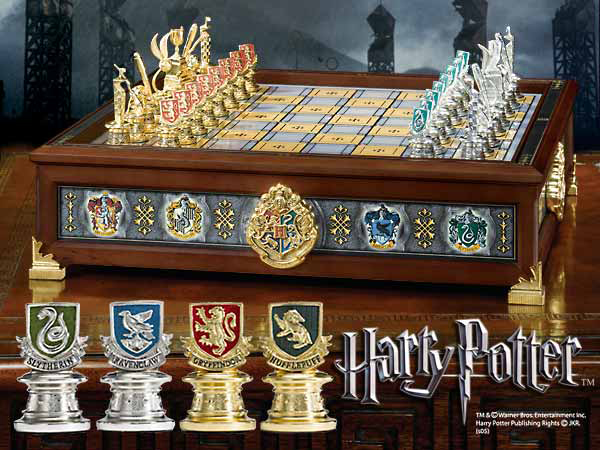 Xadrez Harry Potter - Hogwarts Houses Quidditch