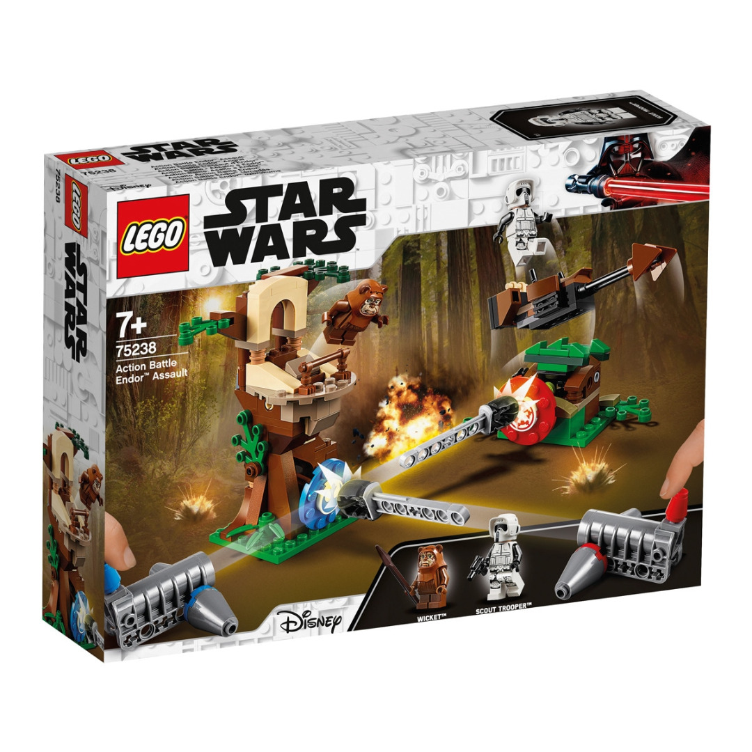 LEGO Star Wars: Play Themes IP Assalto Action Battle Endor