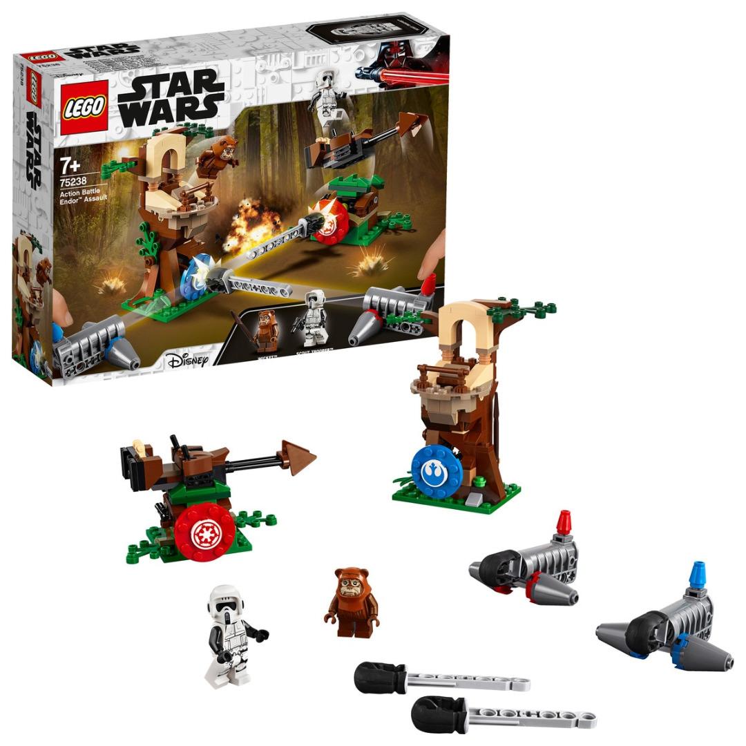LEGO Star Wars: Play Themes IP Assalto Action Battle Endor