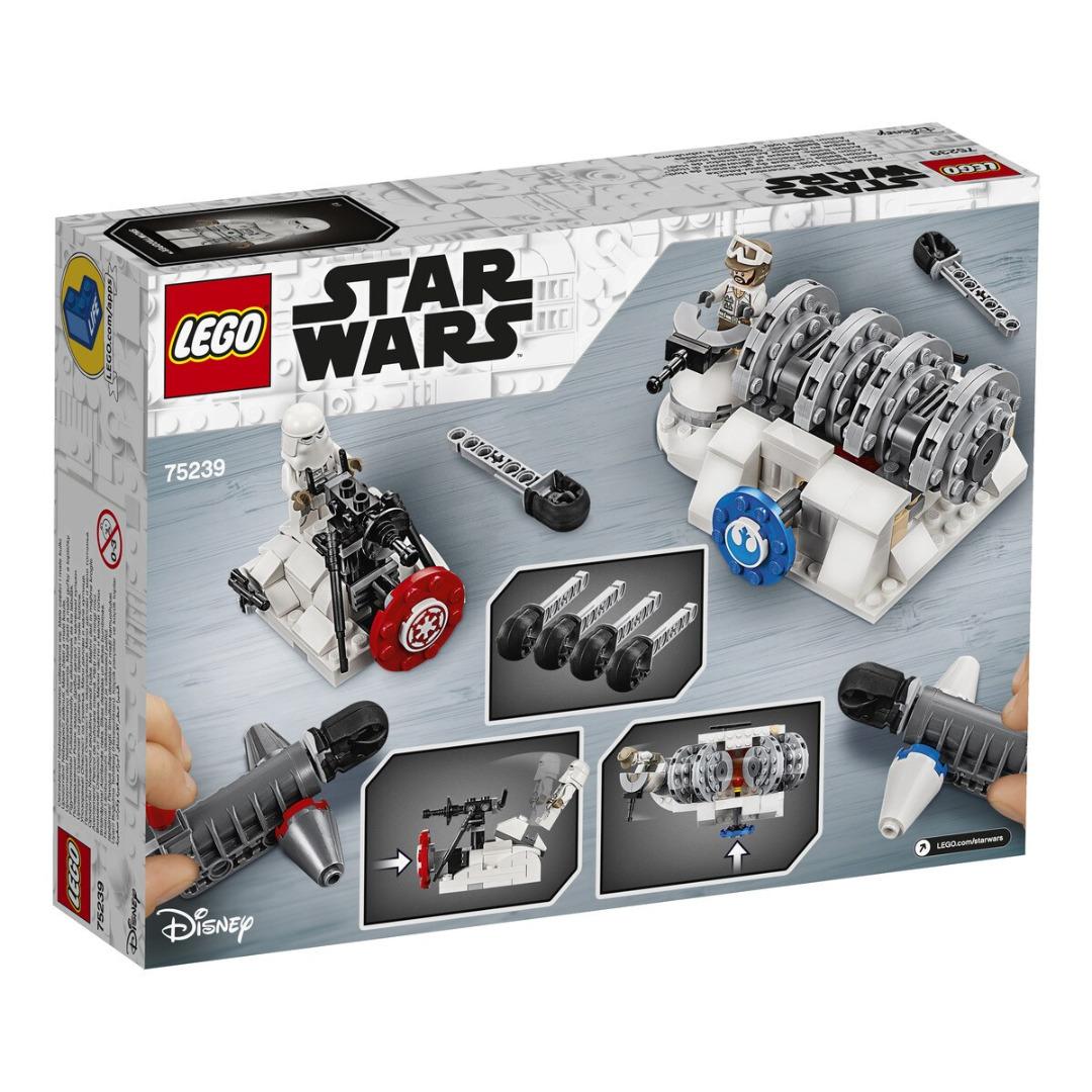 LEGO Star Wars: Play Themes IP Ataque ao Gerador Action Battle Hoth