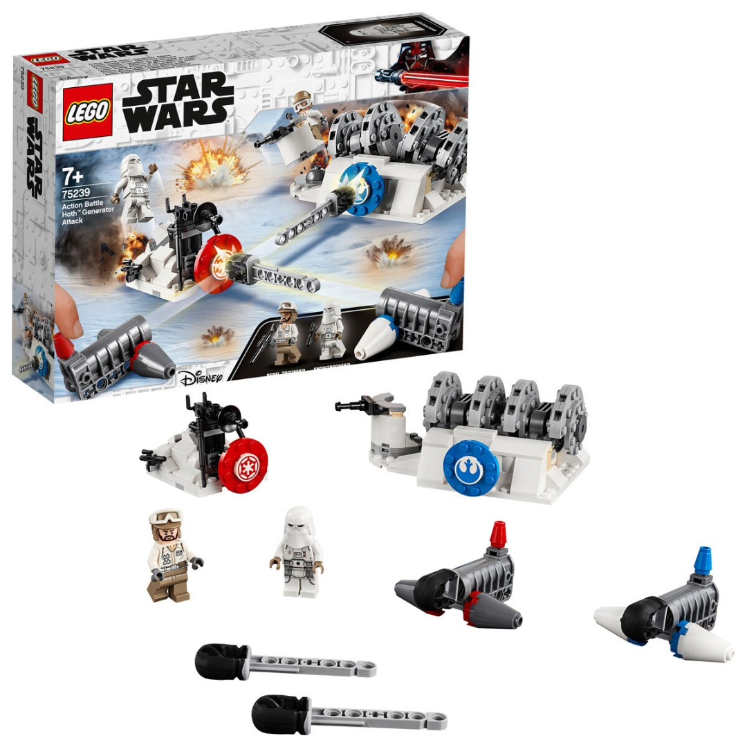 LEGO Star Wars: Play Themes IP Ataque ao Gerador Action Battle Hoth