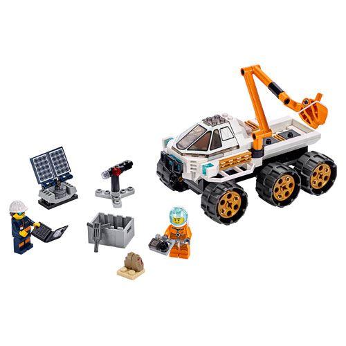 LEGO City Teste de Condução de Carro Lunar