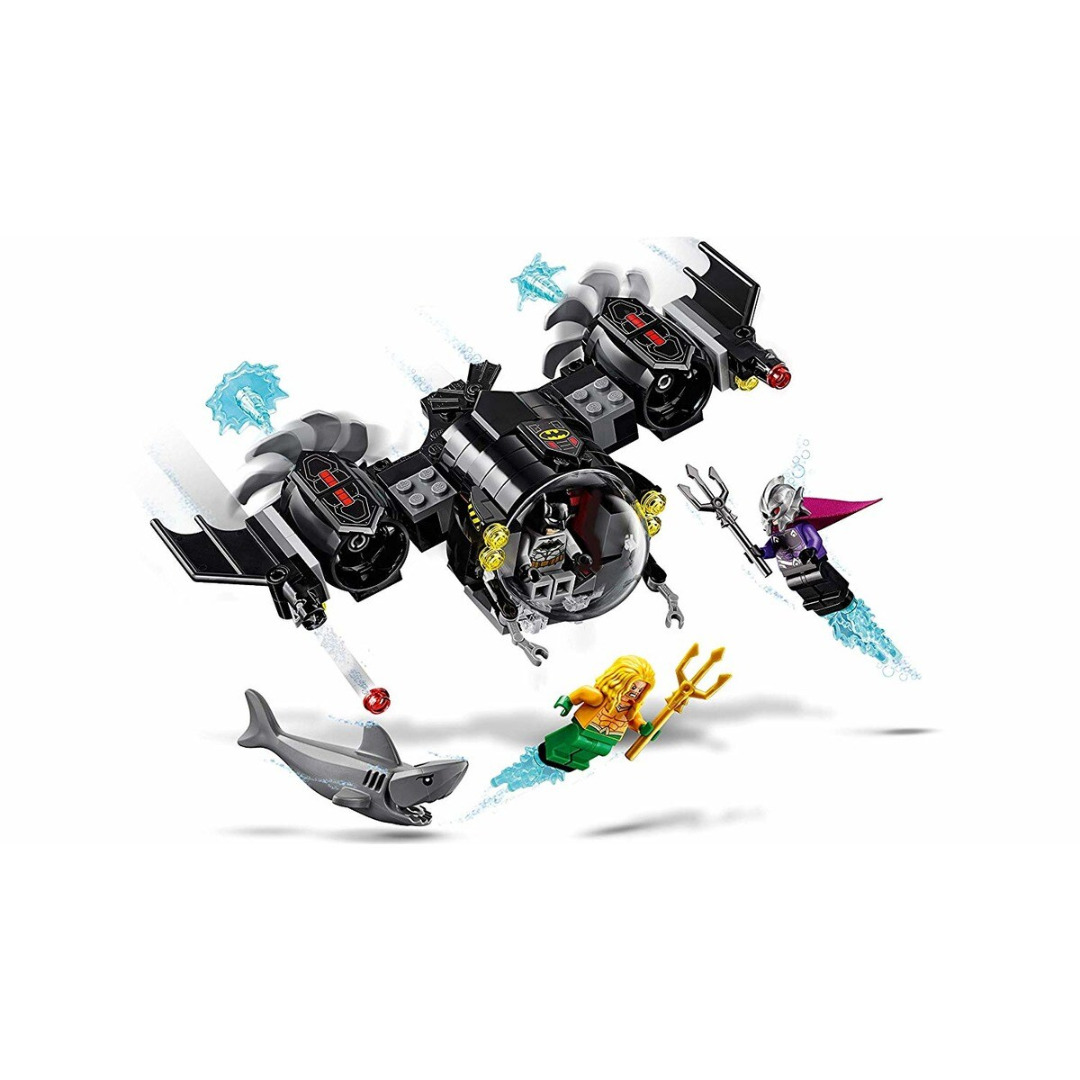 LEGO DC Super Heroes: O Batsubmarino de Batman e o Confronto Subaquático