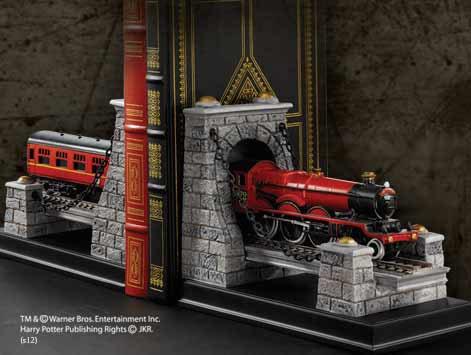 Apara Livros Harry Potter Bookends Hogwarts Express 19 cm