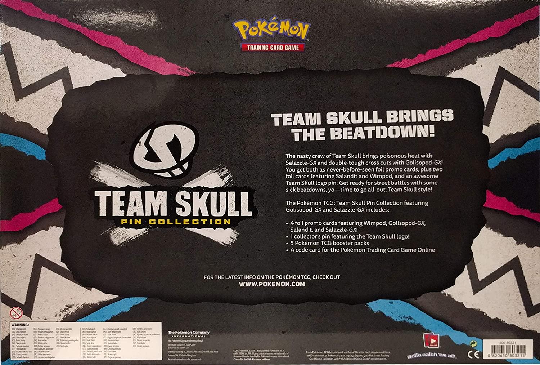 Pokémon - Team Skull Pin Collection English