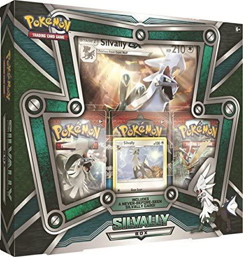 Pokémon Silvally Box English