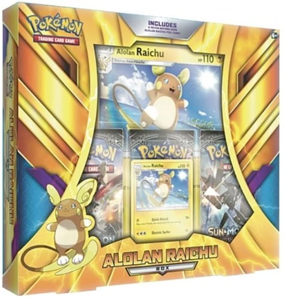 Pokémon Alolan Raichu Box English