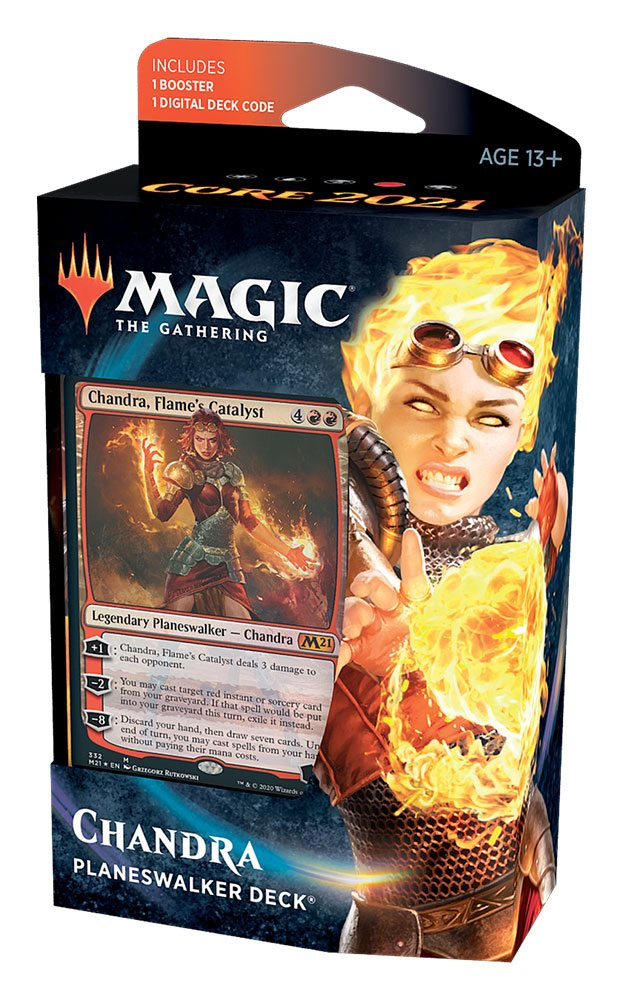 Magic the Gathering Core Set 2021 Planeswalker Deck English