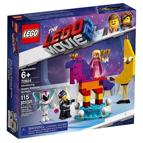 LEGO Movie Apresentação da Rainha Watevra Wa'Nabi
