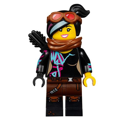 LEGO Movie Lucy Guerreira e Ultrakatty!