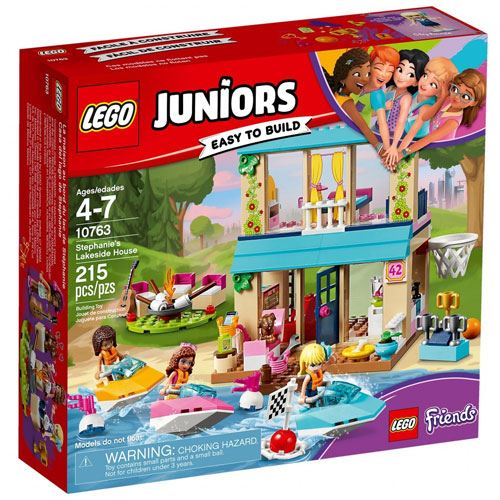 LEGO Juniors A Casa à Beira do Lago da Stephanie