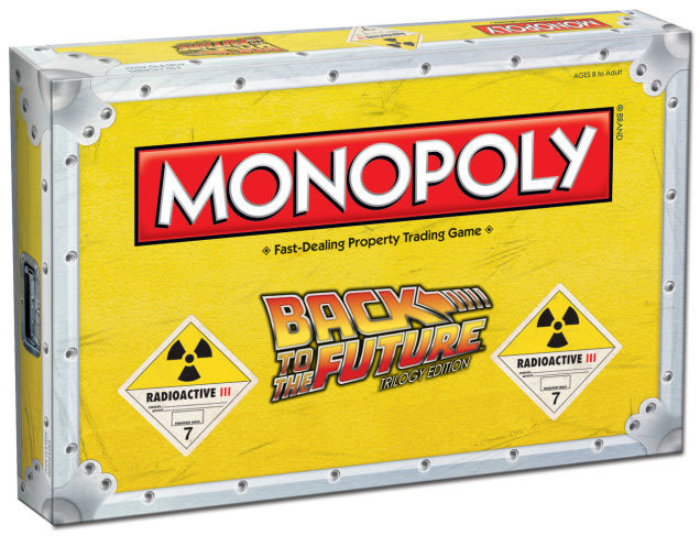 Back to the Future Board Game Monopoly *English Version*