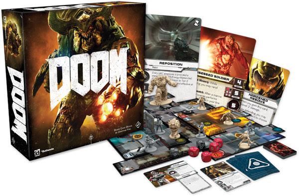 Doom Board Game The Board Game *English Version*