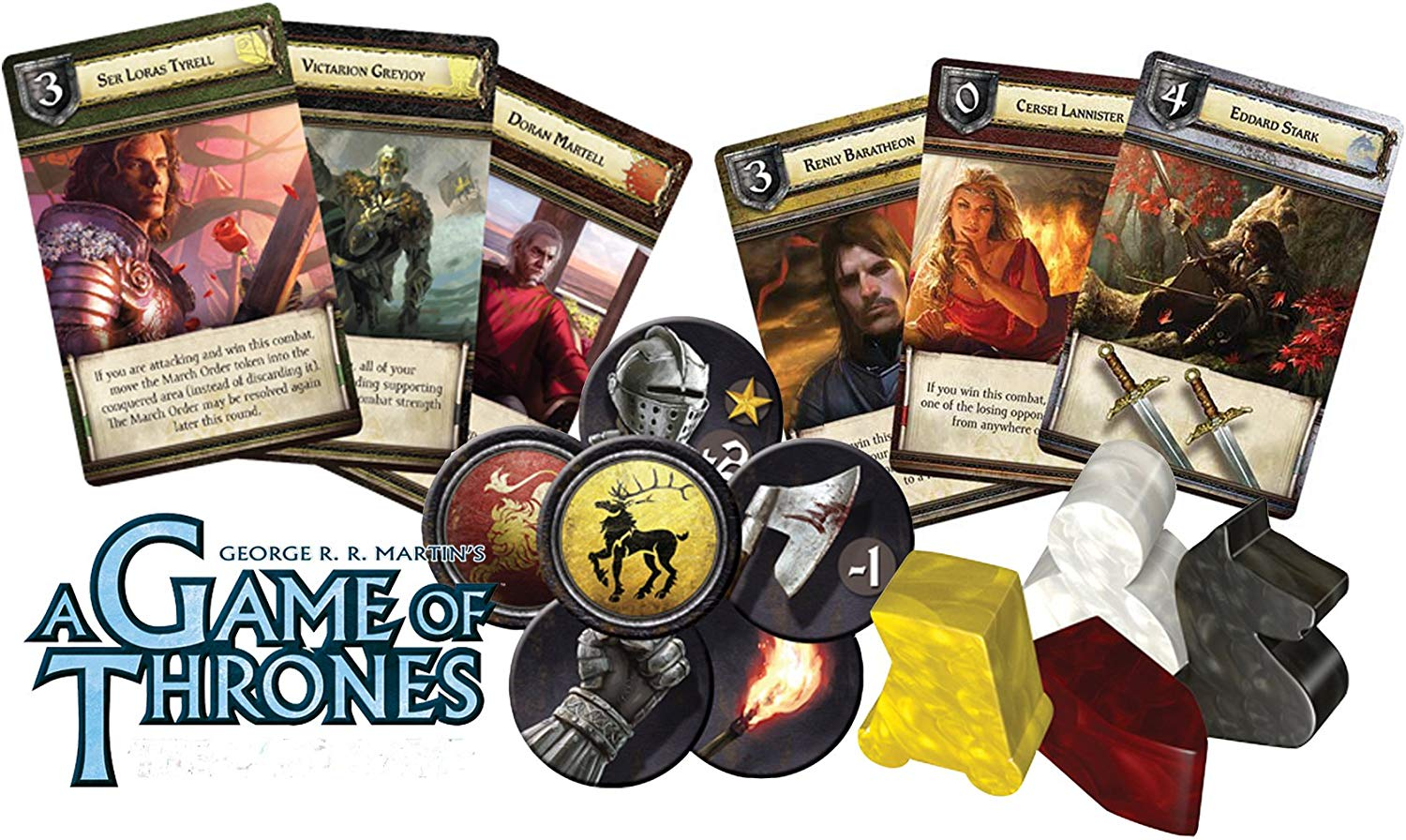FFG- Game of Thrones Board Game The Boardgame 2nd Edition