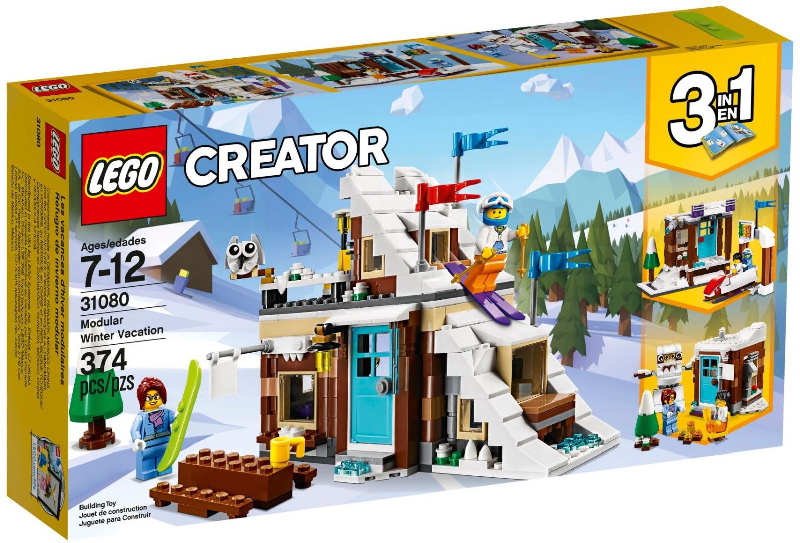 LEGO Creator - Modular de Férias de Inverno