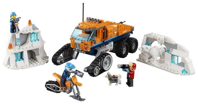 LEGO City - Camião Explorador do Ártico