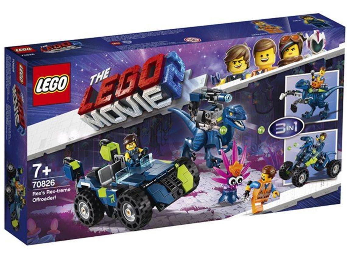 LEGO The Movie 2 - Rex-treme, o Todo-o-Terreno do Rex!