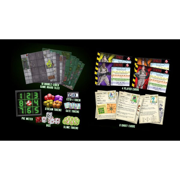 Ghostbusters Board Game TV Series *English Version*