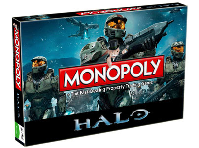Halo Board Game Monopoly *English Version*
