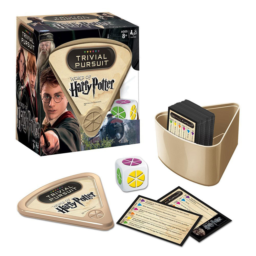 Harry Potter Board Game Trivial Pursuit *English Version*