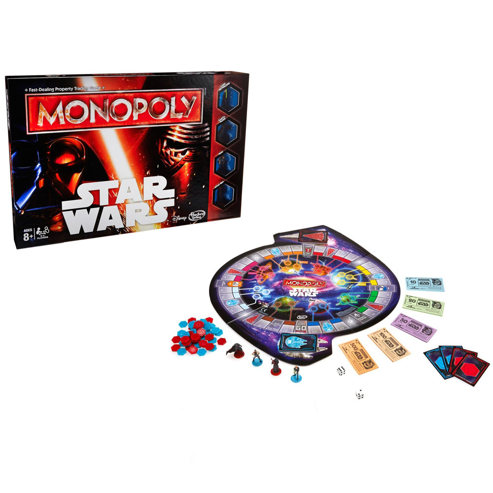 Star Wars Episode VII Board Game Monopoly *English Version*