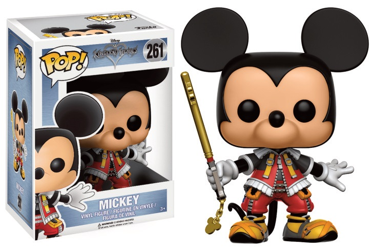 Pop! Disney: Kingdom Hearts - Mickey Vinyl Figure 10 cm