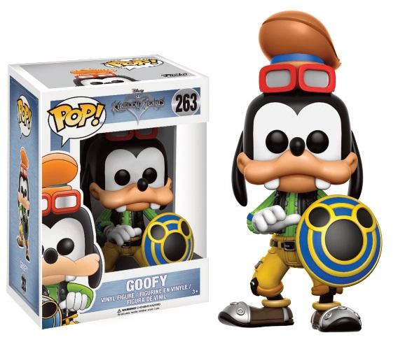 Pop! Disney: Kingdom Hearts - Goofy Vinyl Figure 10 cm