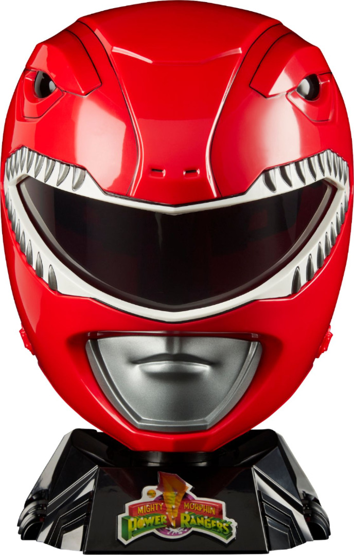 Power Rangers Lightning Collection Red Ranger Helmet Premium Replica