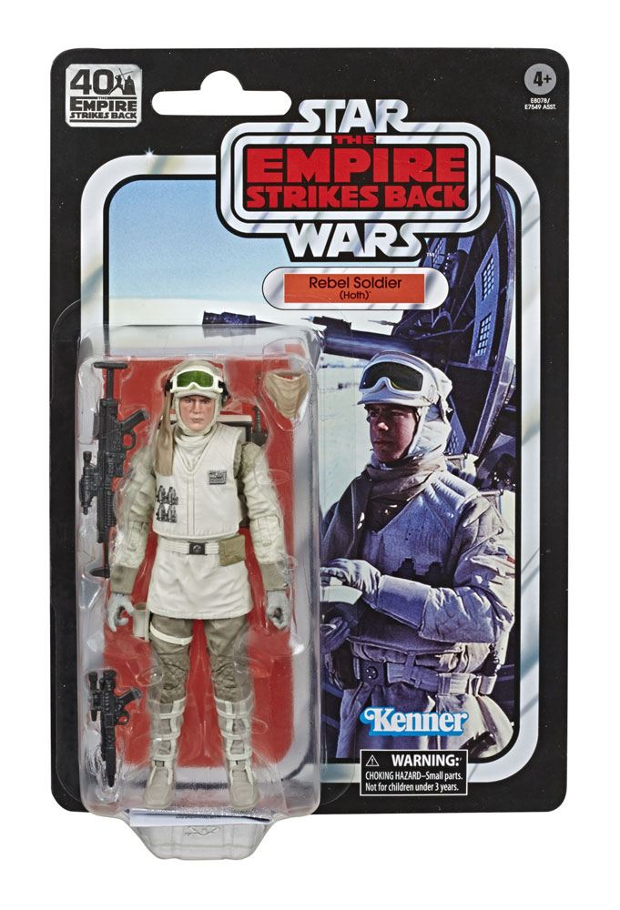 Star Wars Ep. V Black Series Action Figure Rebel Soldier (Hoth) 15 cm