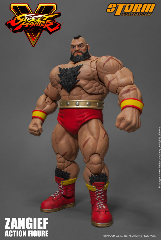 Action Figure Street Fighter V 1/12 Zangief 21 cm