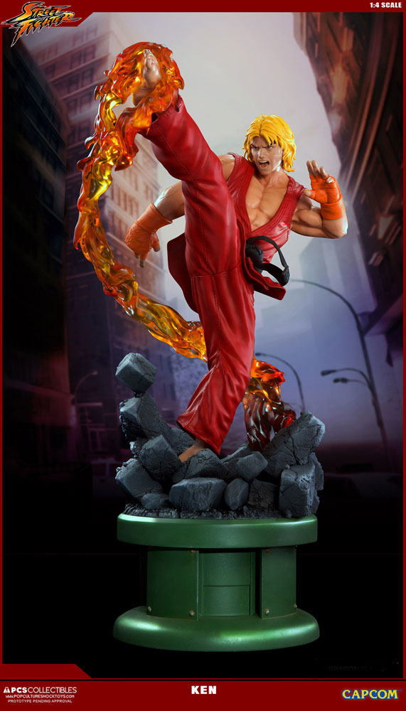 Estátua Street Fighter IV 1/4 Ken 63 cm