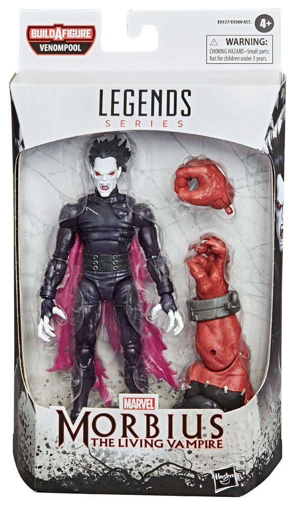 Marvel Legends Series Venom 2020 Action Figure Morbius - The Living Vampire