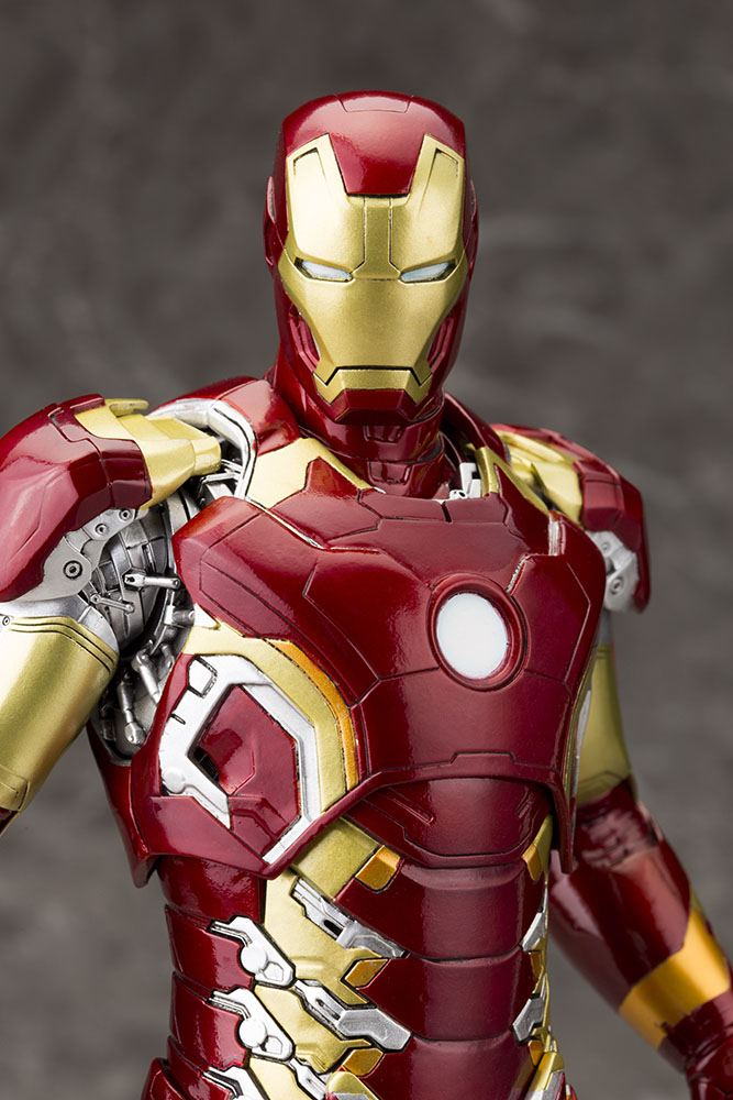 Avengers Age of Ultron ARTFX+ PVC Statue 1/6 Iron Man Mark XLIII 28 cm